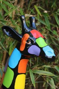 girafe de l'école de l'optimisme
